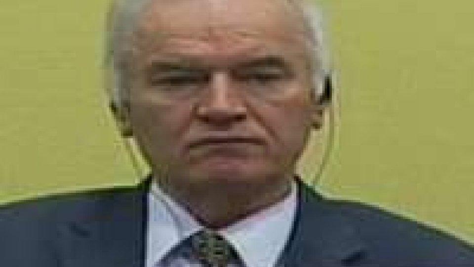 Riprende l'udienza contro Mladic