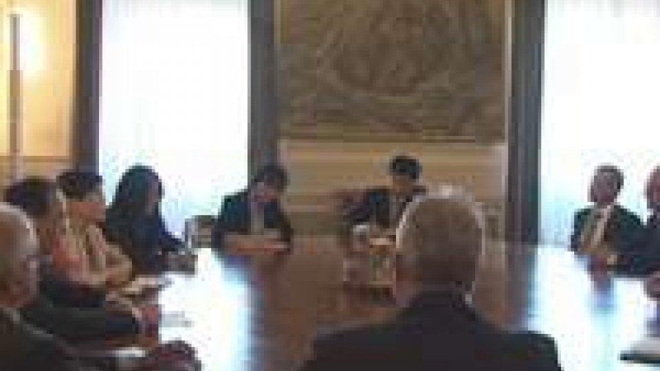 Ospite di altissimo livello per il 25esimo anniversario dell'Associazione San Marino-CinaOspite di altissimo livello per il 25esimo anniversario dell'Associazione San Marino-Cina