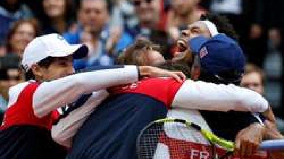 Coppa Davis, la finale è Francia-Belgio