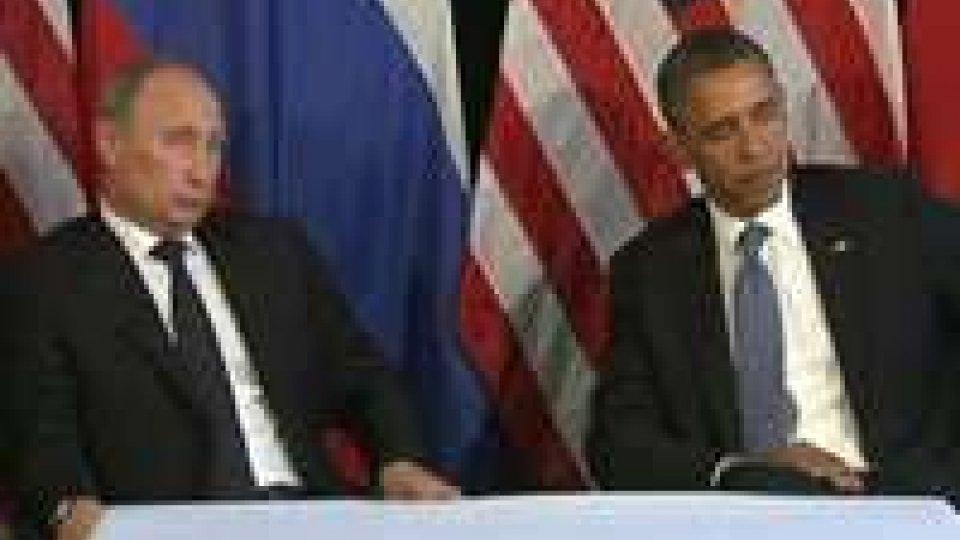 """Siria. Obama e Putin: """"Basta violenze"""""""