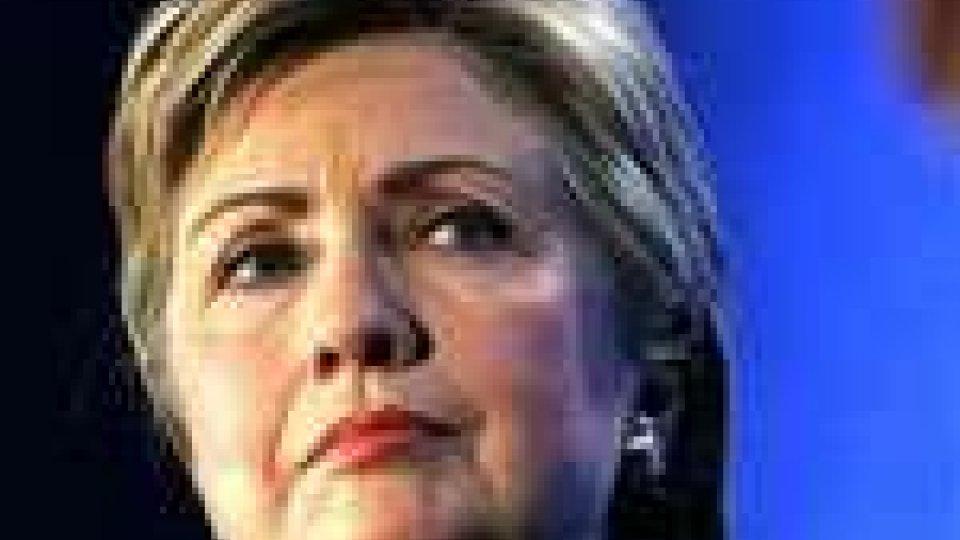 """Israele-Palestina. Clinton: """"la pace arriverà solo con un negoziato"""""""