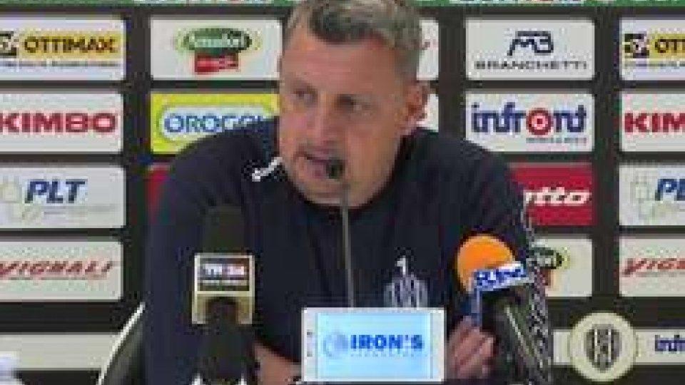 """Andrea CamploneDomani Cesena-Frosinone, Camplone: """"Fisicamente ci siamo, serve serenità"""""""