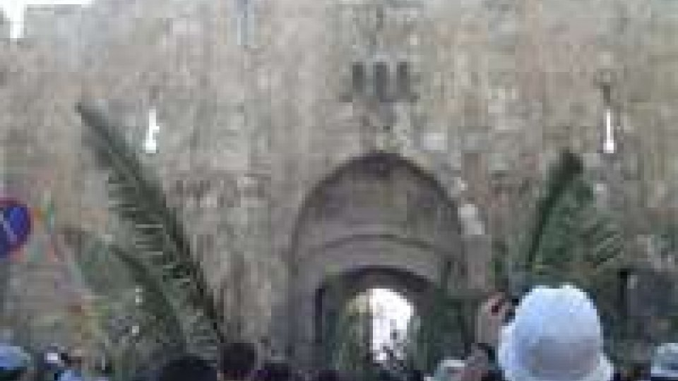 Pasqua: celebrata Domenica Palme a Gerusalemme