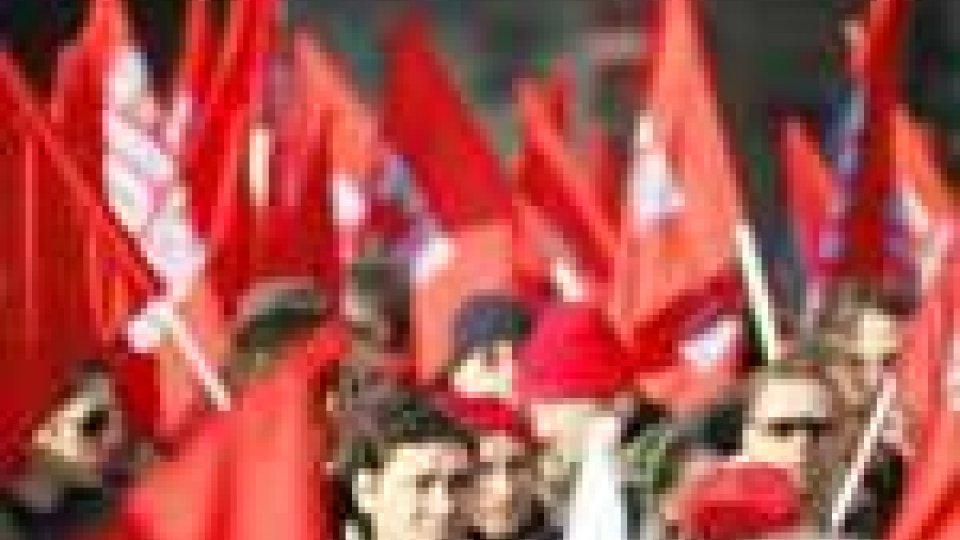 In Italia, è sciopero generale indetto della CGIL