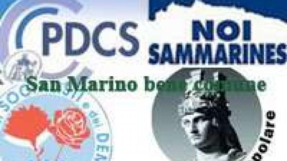 Elezioni: San Marino Bene Comune in festa