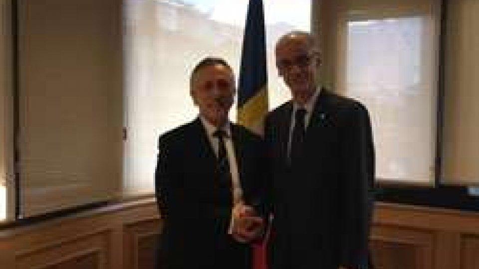 Pasquale ValentiniIl Segretario Valentini ad Andorra per confronti politici e relazioni bilaterali