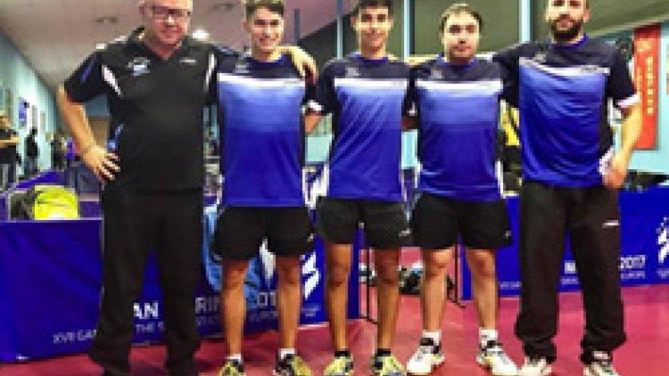 Tennistavolo serie B, Campionati a squadre