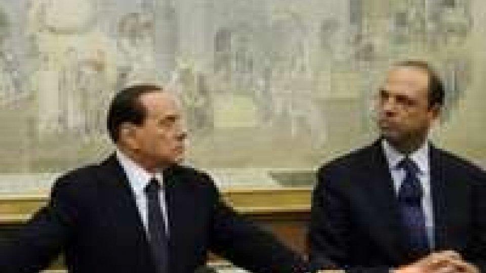 Pdl: gelo tra Alfano e Berlusconi
