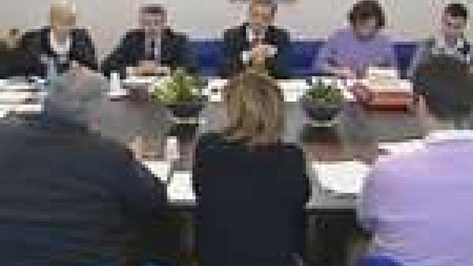 Si è discusso di ammortizzatori sociali nell'incontro tra la Marcucci e il Patto