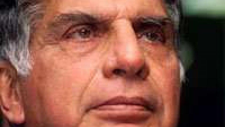 India, Tata: presidente lascia dopo 21 anni