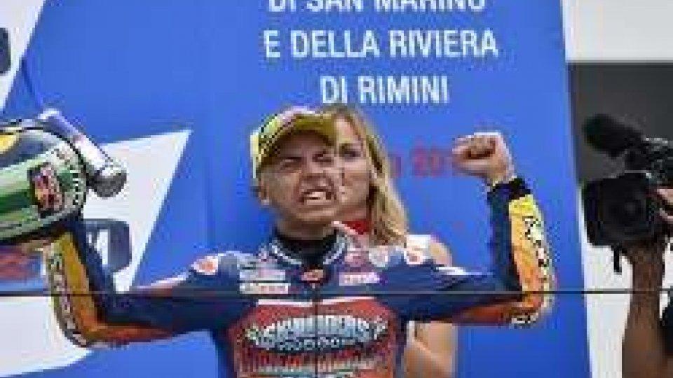 Enea BastianiniMoto3, festa e testa tricolore: finalmente Bastianini!