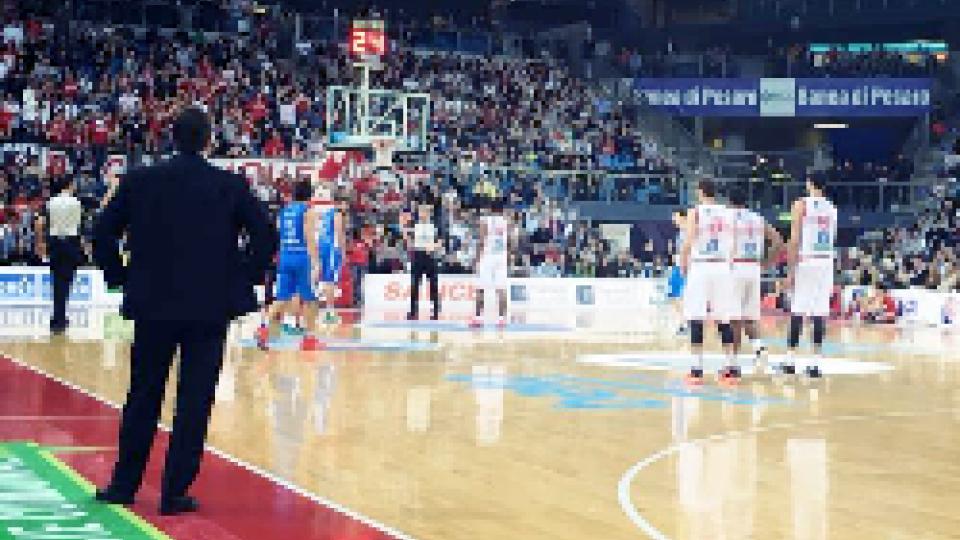 Basket: Pesaro non sbaglia la salvezza è più vicina