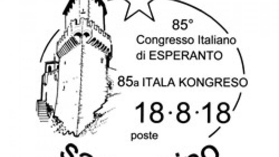 UFN comunicato annullo speciale 85° Convegno Italiano di Esperanto
