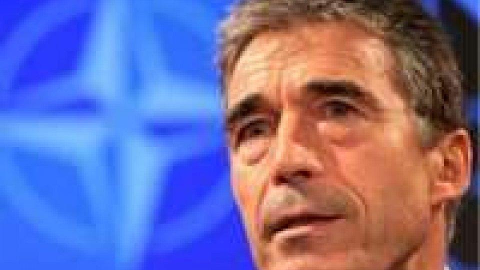 Nato, Rasmussen sul conflitto Turchia - Siria