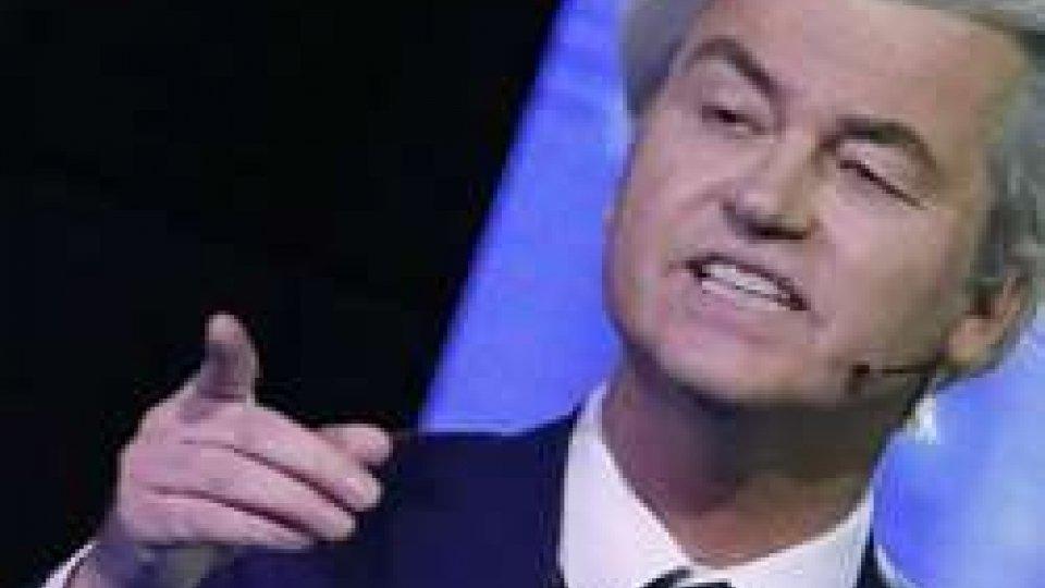 Geert Wilders, leader del partito di ultradestra PVV