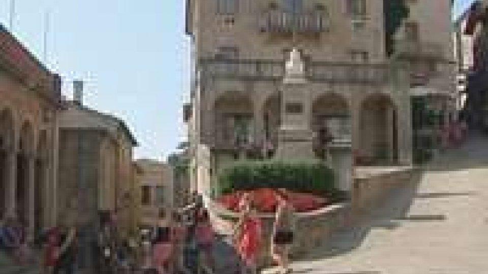 """San Marino: Turismo interviene su """"pizzo"""" in centro"""