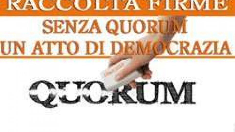 """Referendum: al via la raccolta firme per il """"cancella quorum"""" e per abrogare la variante del Prg di Rovereta"""