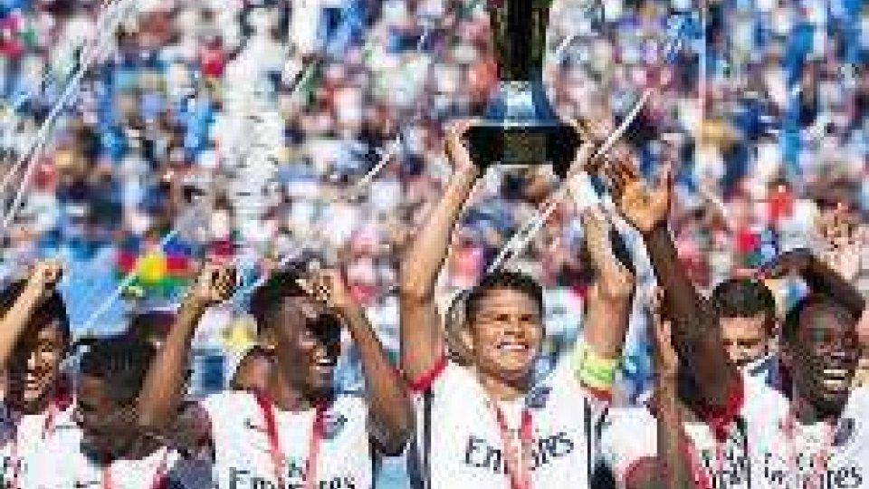 Il PSG ha vinto la supercoppa di FranciaIl PSG ha vinto la supercoppa di Francia