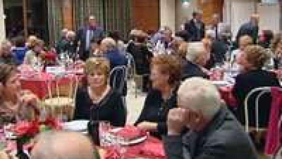 La Reggenza al Veglione per le Famiglie organizzato dalla Federazione Pensionati CDLS