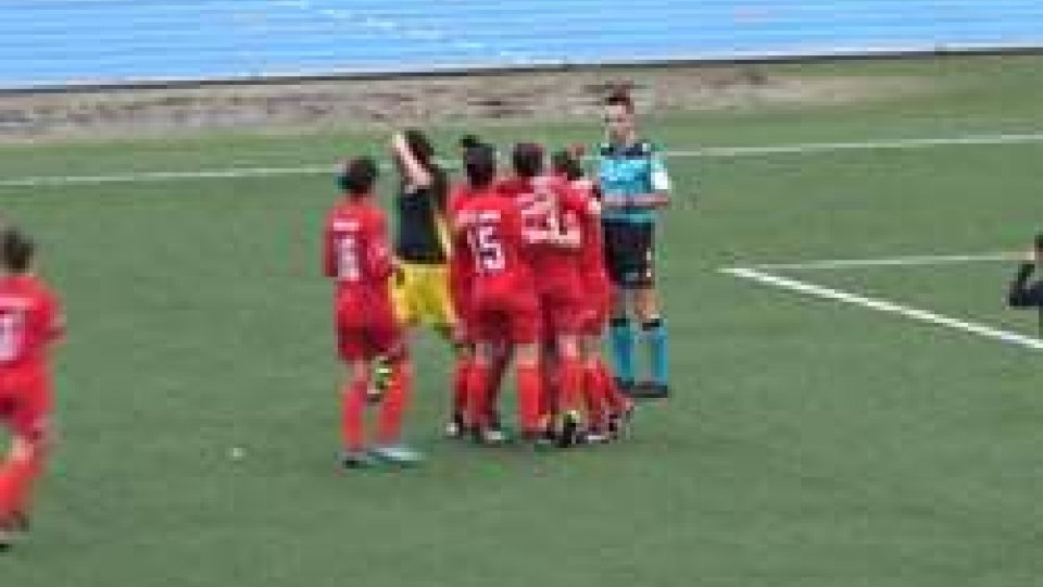 Femminile: la San Marino Academy vince il derby