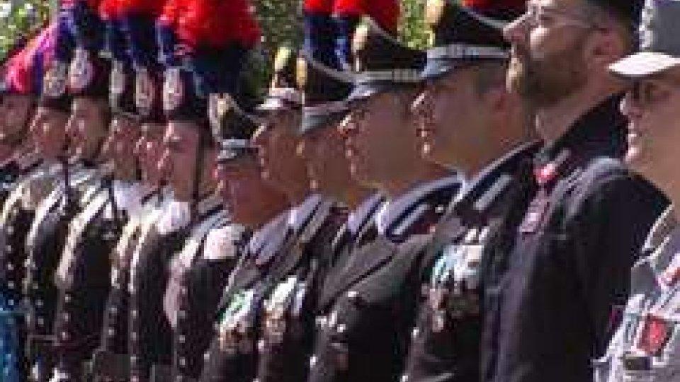 203° annuale di fondazione dell'Arma dei Carabinieri