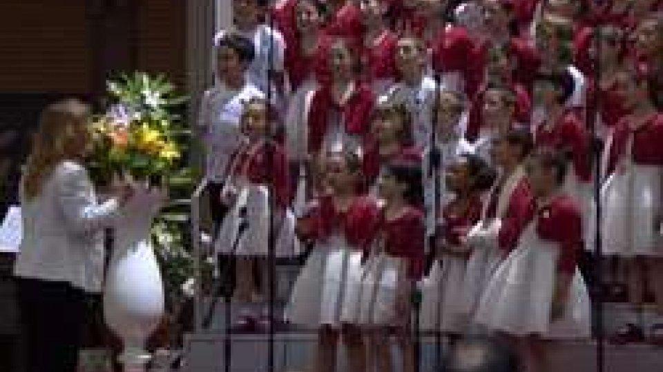 Antoniano di Bologna, il Piccolo Coro incanta San Marino