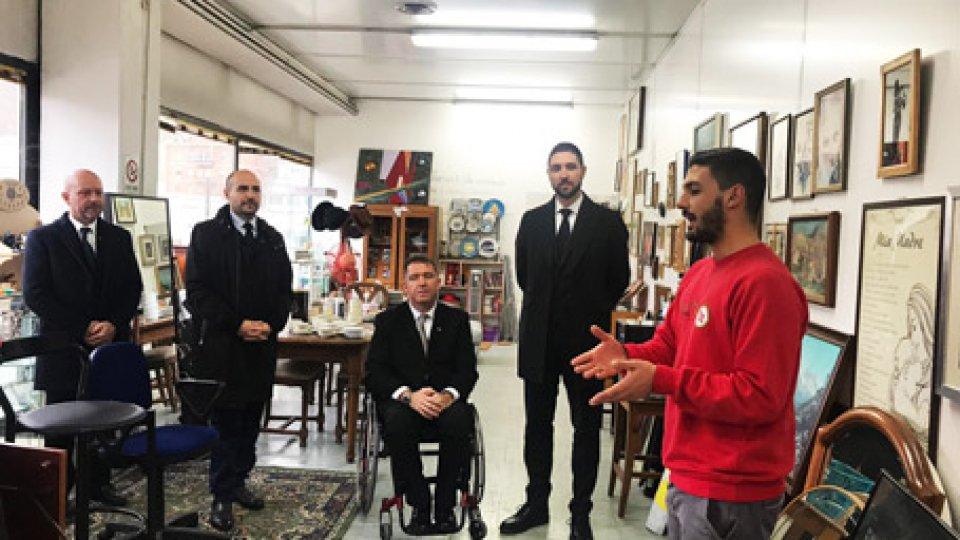 Visite della ReggenzaUna reale inclusione lavorativa: visite delle Reggenza al Centro di Riuso 5R, all'impianto IAM e alla Cooperativa Sociale InVolo