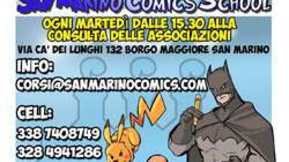 """""""San Marino Comics School"""", martedì 10 ottobre l'open day"""