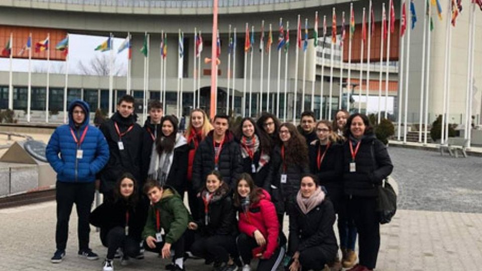 Prosegue con successo il progetto di scambio culturale tra la Scuola Secondaria Superiore di San Marino e la Vienna International School