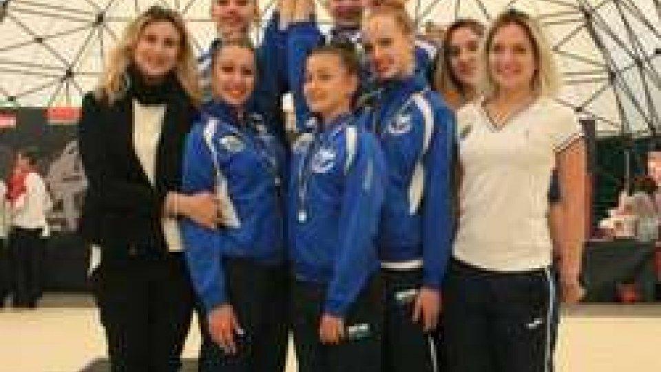 Fine stagione con il botto per la Società Sportiva Ginnastica San Marino