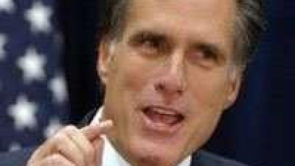 Usa. Mitt Romney fa cinquina