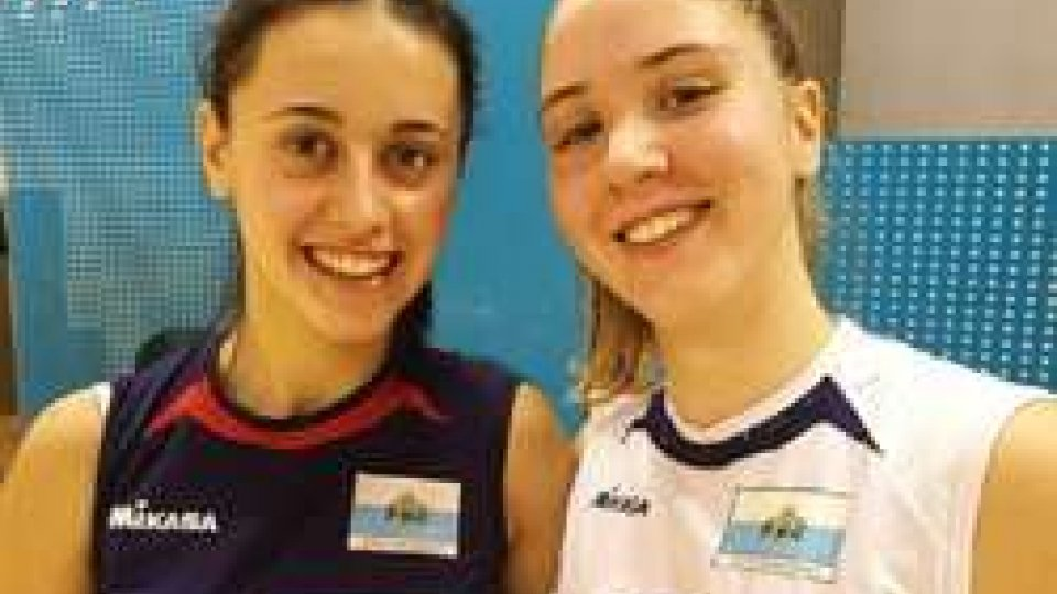 Nella foto: Alice Pasolini ed Elena Para
