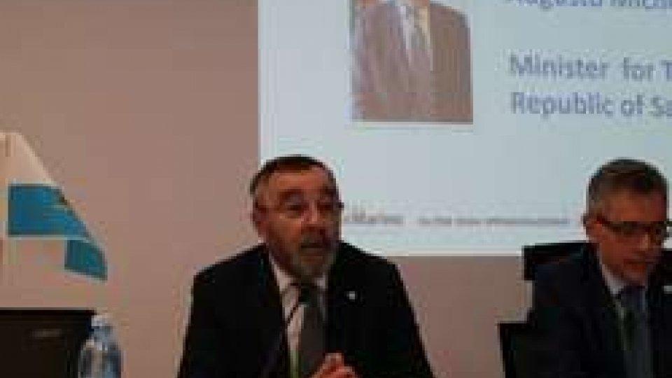 Augusto MichelottiSan Marino presenta i suoi progetti di internazionalizzazione all'expo di Astana in Kazakistan
