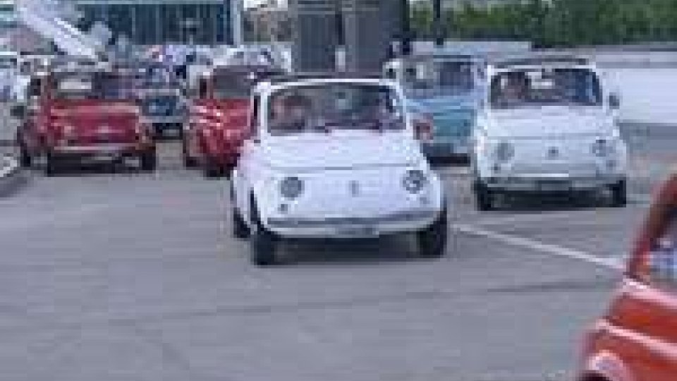 Fiat 500: sul Titano per il 16' Raduno Internazionale