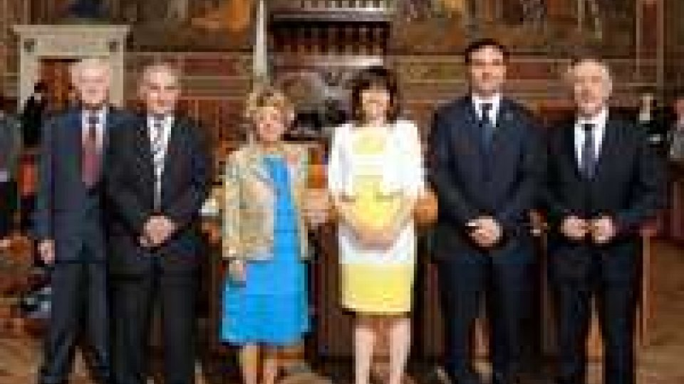L'associazione Alliance Française ricevuta dai Capitani Reggenti