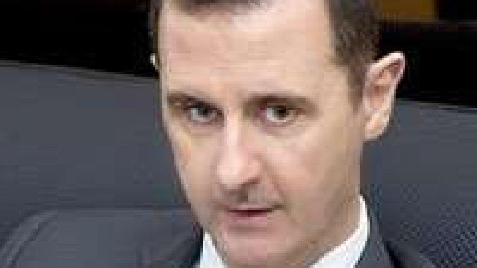 """Siria, Assad: """"In caso di attacco risposte a tutto campo""""."""
