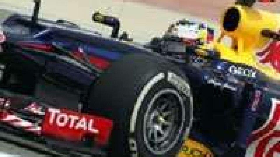 F1 in Bahrain. Vince Vettel, Alonso settimo