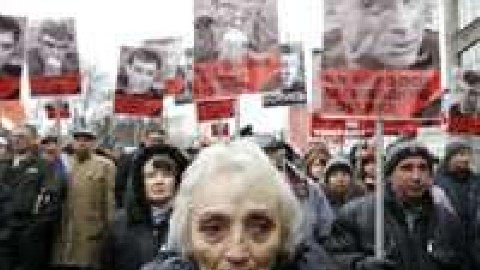 A Mosca in marcia per Nemtsov