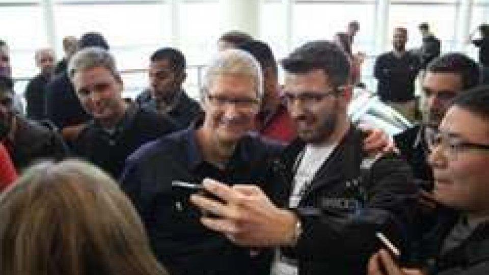 Nicola Giancecchi di Mr. APPs invitato all'evento Apple di Berlino