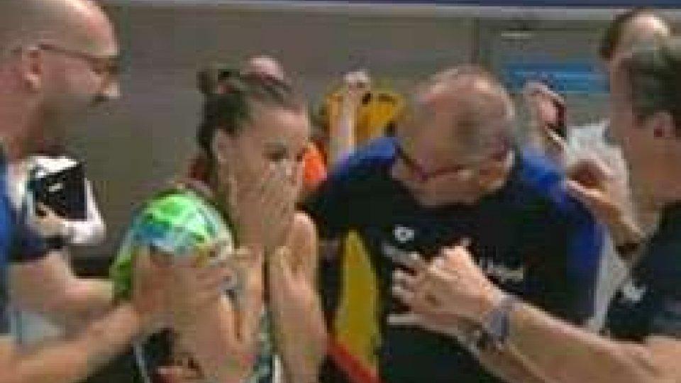 Tania CagnottoTuffi: Mondiali, Cagnotto d'oro nel trampolino 1 metro