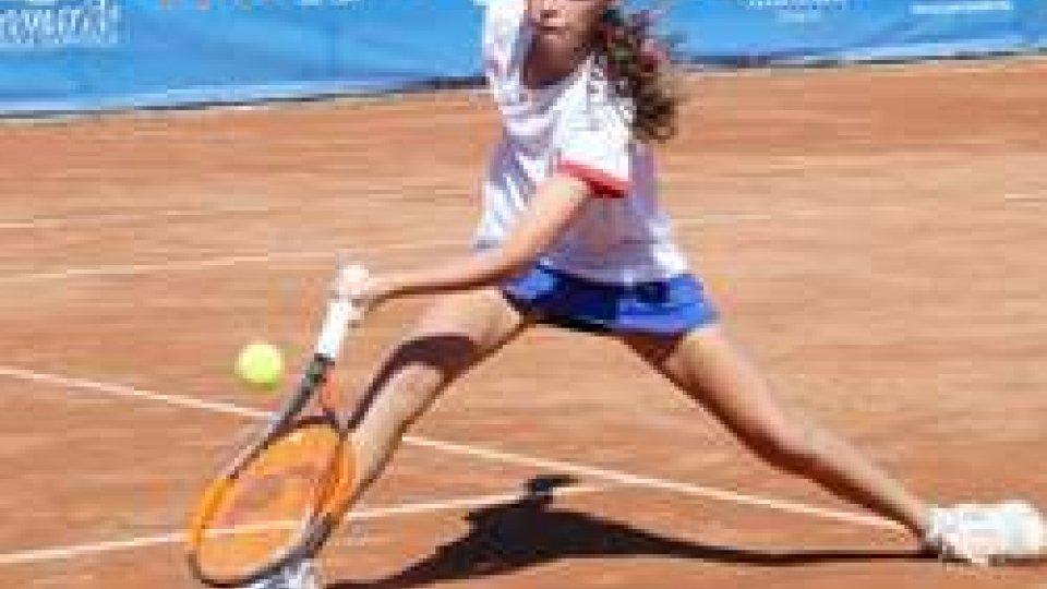 Giulia Dal Pozzo trascina la nazionale azzurra alle semifinali nella Nation Cup Under 12 in corso all'Olimpica Tennis Rezzato (Brescia)
