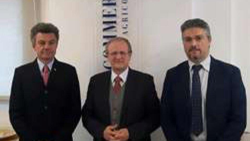 L'Ambasciatore d'Italia presso la Repubblica di San Marino Guido Cerboni in visita alla Camera di Commercio di San Marino