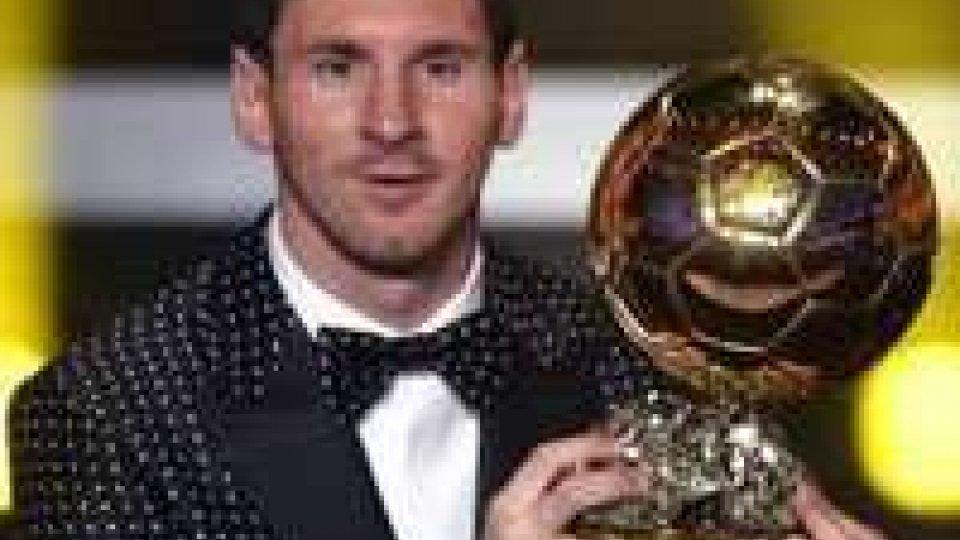Lionel Messi nella leggendaPallone d'oro: il poker di Messi
