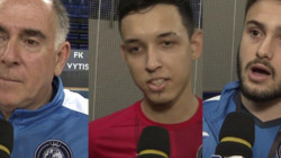 Le interviste al ReadingMurata-Reading, i commenti di giocatori e tecnico degli inglesi