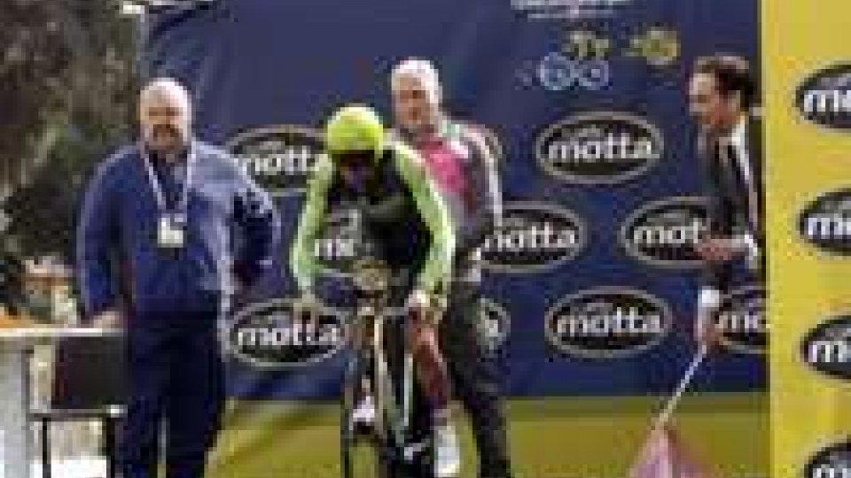 Andrea Malori ha vinto la prima tappa della Tirreno - Adriatico