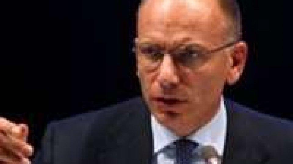 New York: Letta, legge di stabilità cruciale