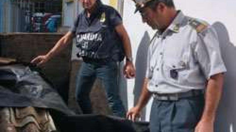 GdF: a Santarcangelo denuncia e sequestro di materiali pericolosi