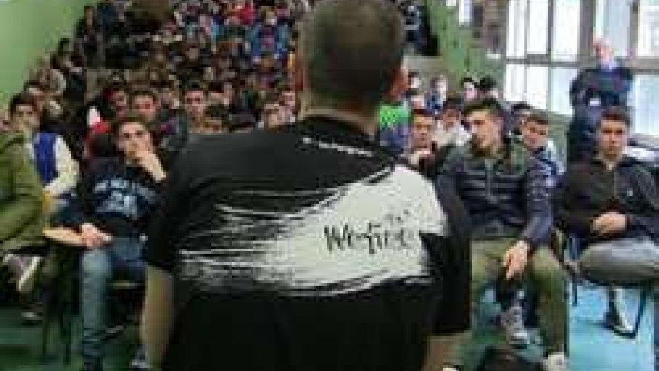 WeFree, un dibattito contro la droga al liceo Volta
