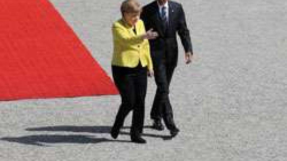 Merkel e Obama
