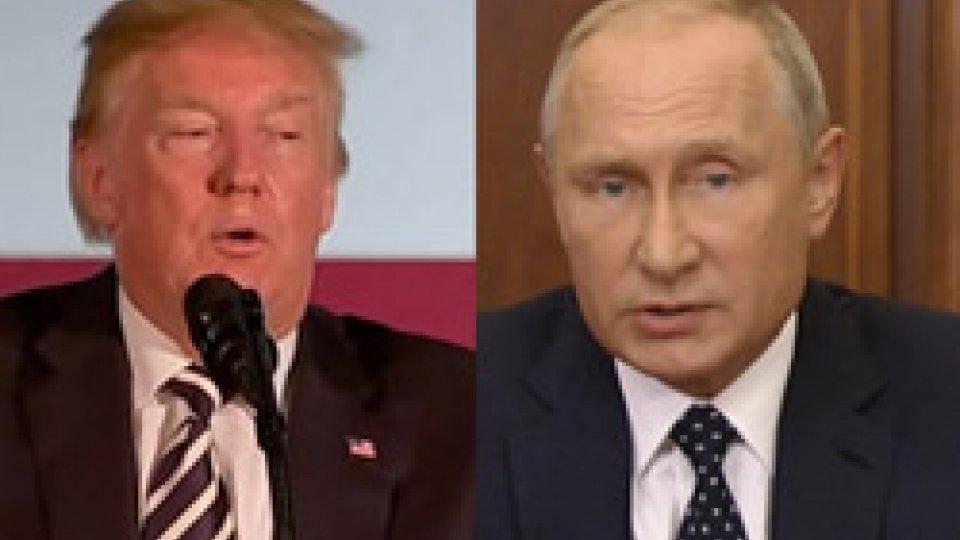 Trump e Putin3 settembre: Trump e Putin fanno gli auguri a San Marino per i 1718 anni dalla fondazione